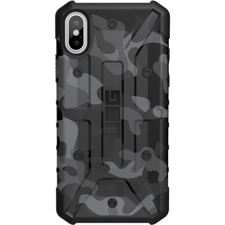 Чехол UAG Pathfinder SE Camo Series Case для iPhone X/iPhone Xs серый (Midnight)