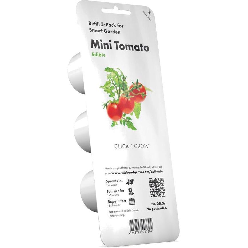 Набор картриджей для умного сада Click and Grow Refill 3-Pack Томаты Черри (Mini Tomato)