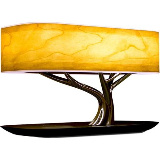 Умный светильник HomeTree Light Of the Tree с беспроводной зарядкой и Bluetooth-колонкой (YT-M1602-B2)