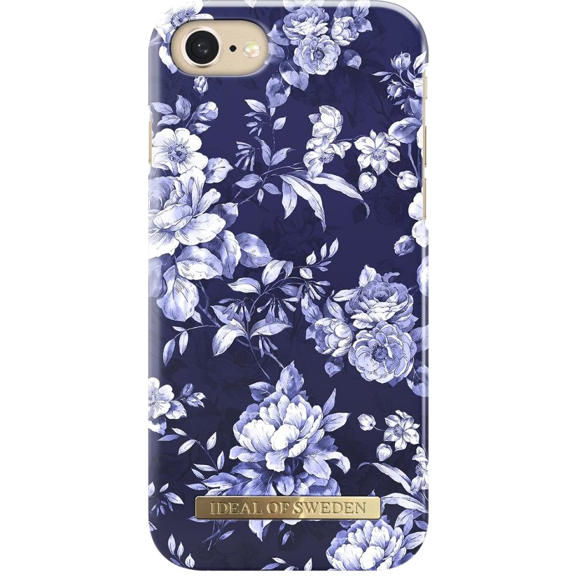 Чехол iDeal of Sweden Fashion Case S/S18 для iPhone 8/7/6 (Sailor Blue Bloom)
