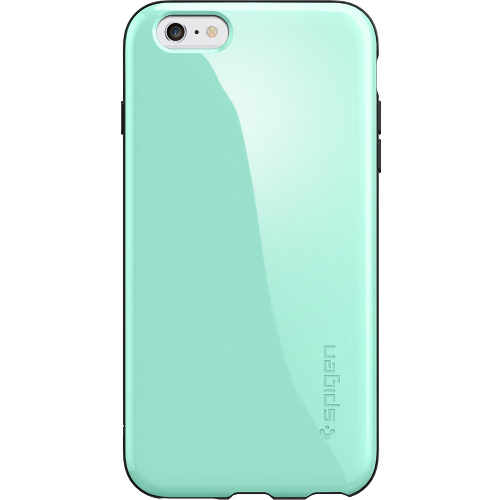 quality design f349e f5d99 Чехол Spigen Capella для iPhone 6/6s Plus мятный SGP11084