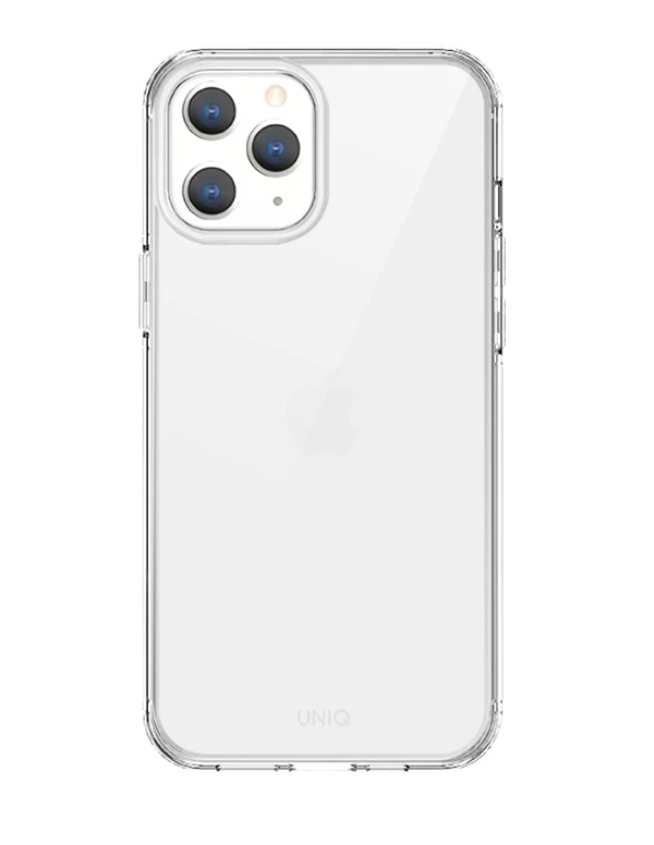 Чехол Uniq Air Fender Anti-microbial для iPhone 12/ iPhone12 Pro, прозрачный