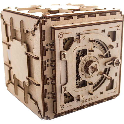 3D-пазл UGears Сейф (Safe)