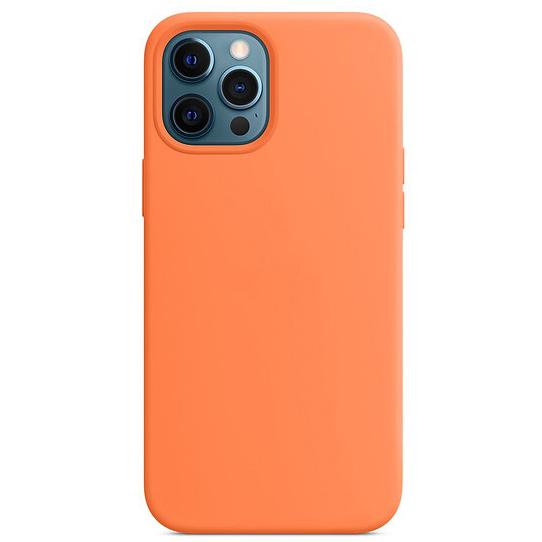 Чехол силиконовый Gurdini MagSafe для iPhone 12 Pro Max кумкват