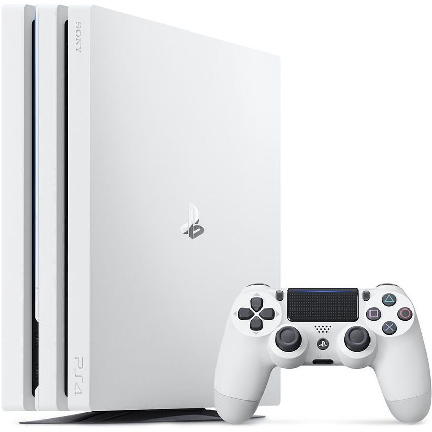 Игровая приставка Sony PlayStation 4 Pro (1ТБ) белая (Glacier White)