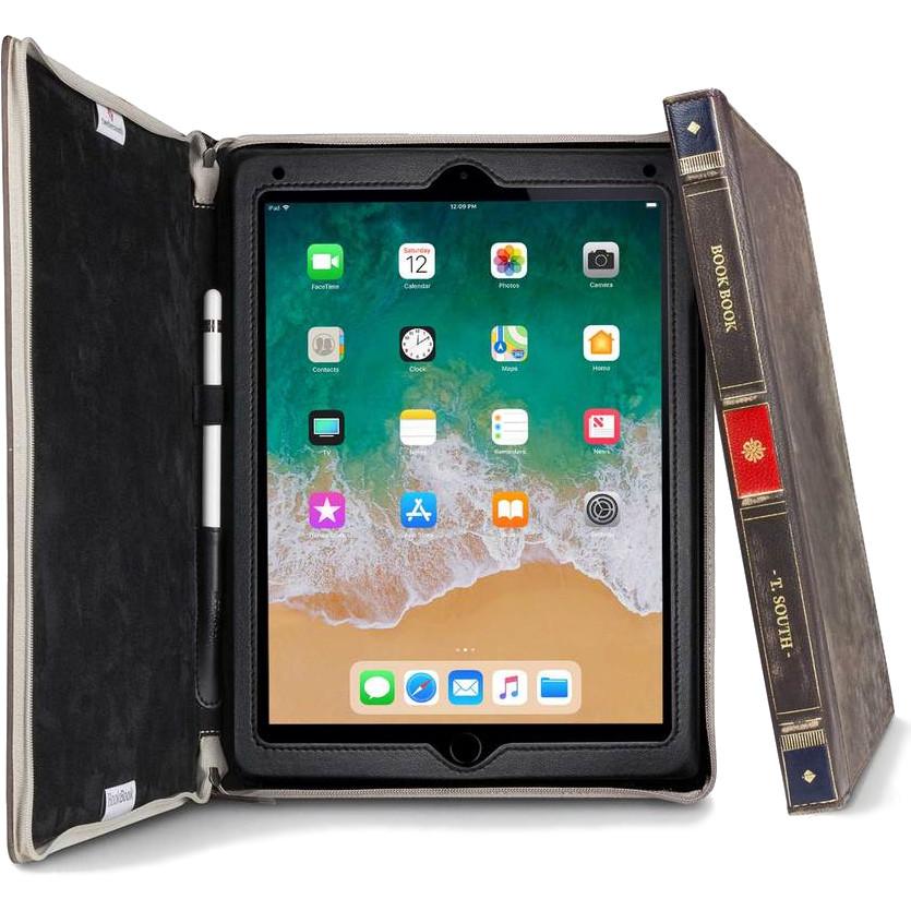 Чехол TwelveSouth BookBook для iPad mini 5 коричневый