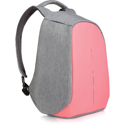 """Рюкзак XD Design Bobby Compact для Macbook 13"""" серый/розовый"""