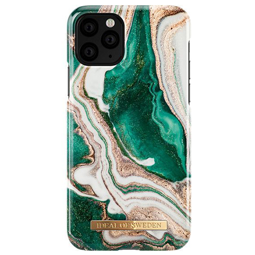 Чехол iDeal of Sweden Fashion Case для iPhone 11 Pro Max Golden Jade Marble