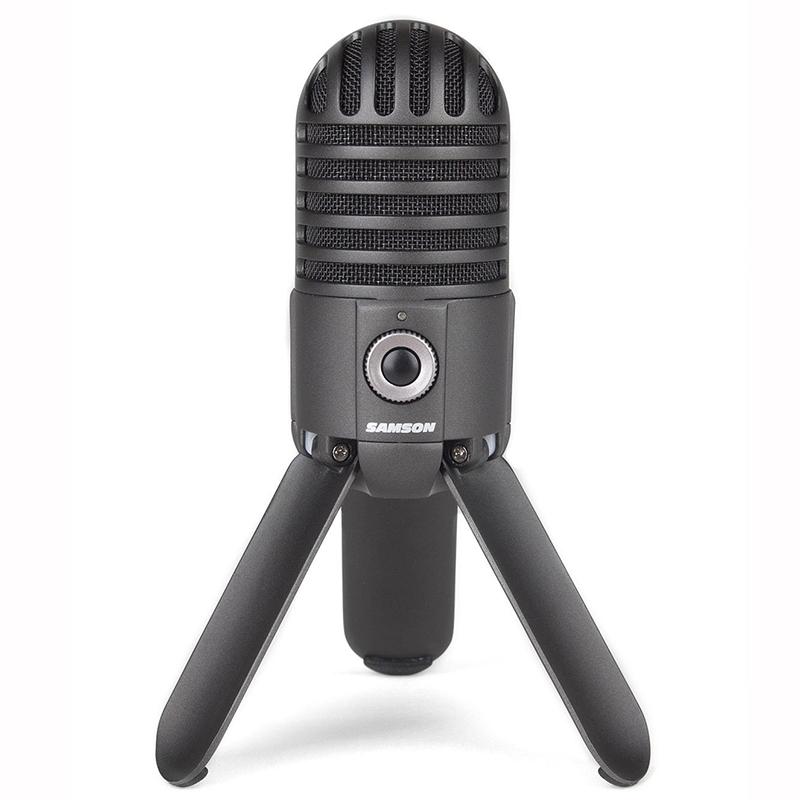 Студийный USB-микрофон Samson Meteor Mic черный