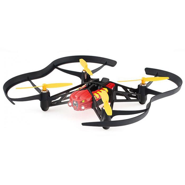 Квадрокоптер Parrot Airborne night drone Blaze (красный)