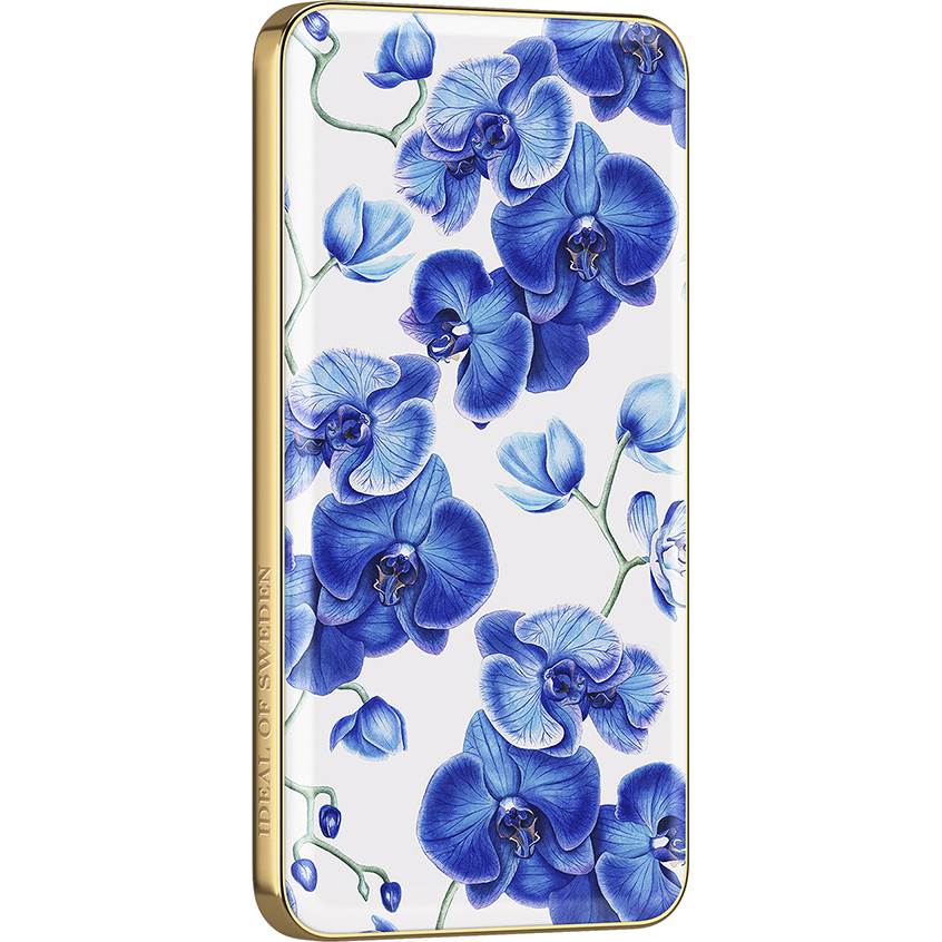 Внешний аккумулятор Ideal of Sweden Fashion Power Bank на 5000 мАч Baby Blue Orchid (IDFPB-70)
