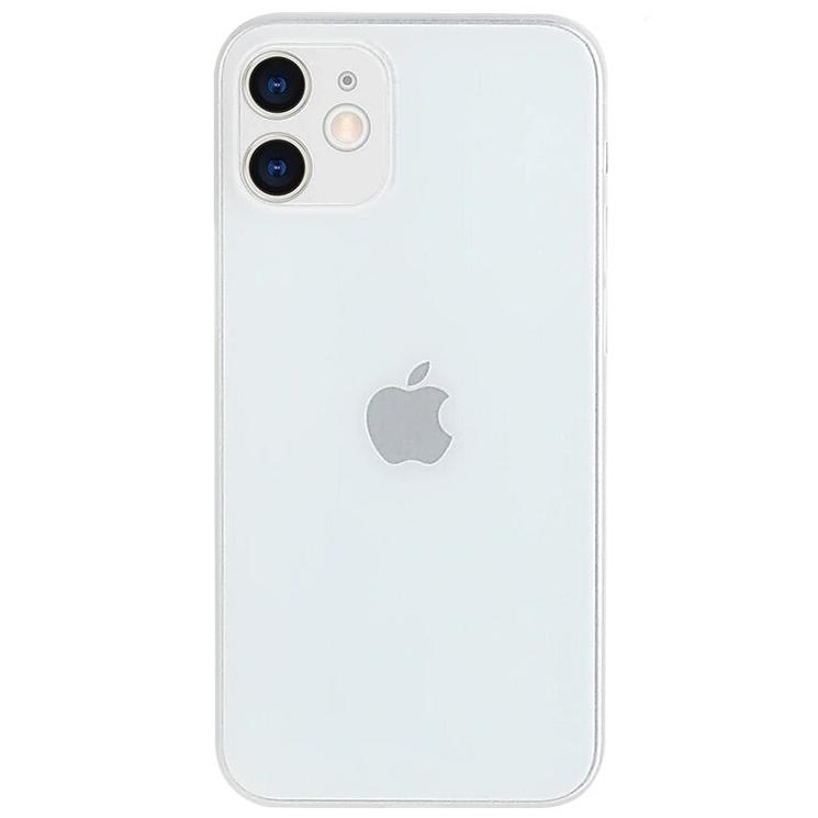 Чехол накладка Memumi для iPhone 12 Ultra Slim 0.3мм  белый