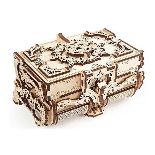 Механическая модель UGears Антикварная шкатулка