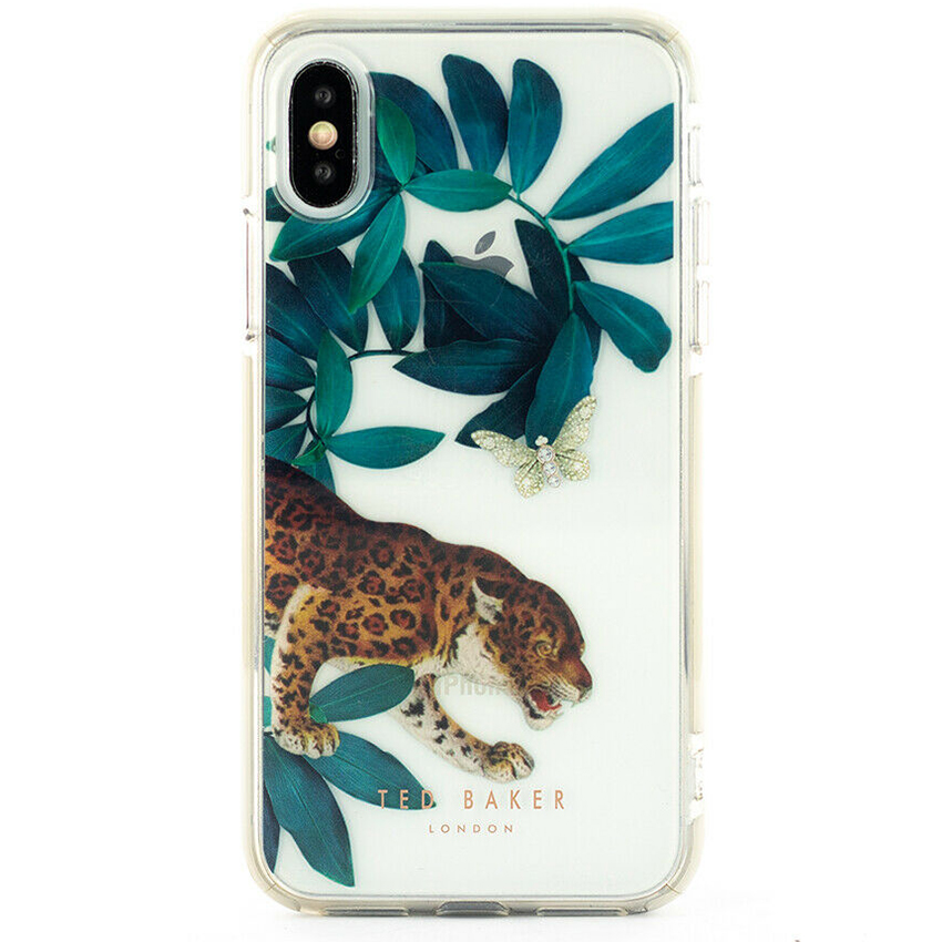 Чехол Ted Baker Houdini Anti-Shock Case для iPhone X/Xs прозрачный