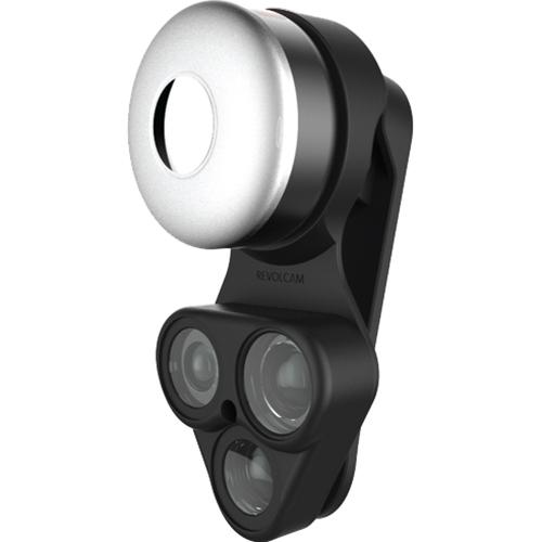 Набор линз ShiftCam RevolCam (wide + macro lens + fisheye) чёрный