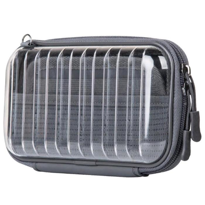 Сумка-органайзер Baseus Let's Go Hermit Shockproof Storage Bag прозрачная (LBFZ-A02)