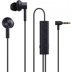 Наушники Xiaomi Mi Noise Cancelling Earphones (3.5 mm mini jack) чёрные