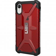 Чехол UAG Plasma Series Case для iPhone Xr красный Magma