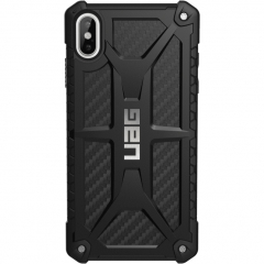 Чехол UAG Monarch Series Case для iPhone Xs Max чёрный карбон