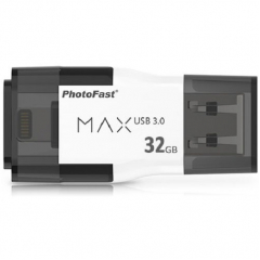 Флешка PhotoFast I-FlashDrive MAX G2 U3 32Gb для iOS/Mac/PC