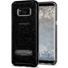 Чехол Spigen Crystal Hybrid Glitter для Samsung Galaxy S8 Plus дымчатый кварц (571CS21286)