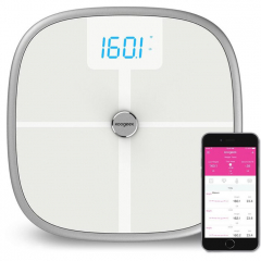 Умные весы Koogeek Bluetooth & Wi-Fi Smart Health Scale with Apple Health Kit (KS1)