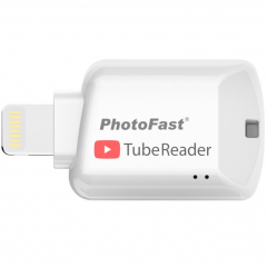Картридер PhotoFast TubeReader для iOS белый