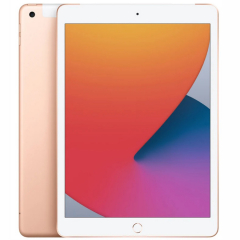 Apple iPad 10.2 (2020) 128 Гб Wi-Fi + Cellular золотистый