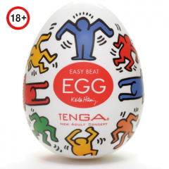 Мастурбатор-яйцо Tenga & Keith Haring Egg Dance