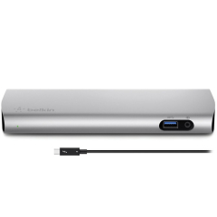 Док-станция Belkin Thunderbolt 3 Express Dock HD with Cable (F4U095vf)