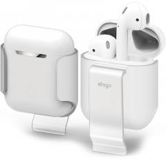 Чехол Elago Carrying Clip для AirPods прозрачный