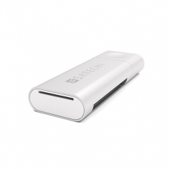 Картридер Satechi Aluminium Type-C Card Reader серебристый (ST-TCUCS)