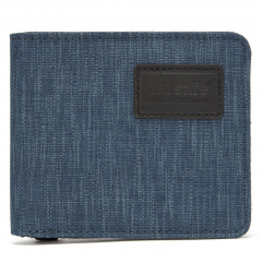 Кошелек PacSafe RFIDsafe TEC RFID Blocking Slim Bifold Wallet синий (Dark Denim)