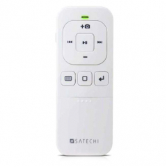 Пульт управления Satechi Bluetooth Multi-Media Remote Control для iPhone, iPad и Mac белый