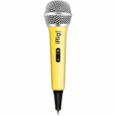 Микрофон IK Multimedia iRig Voice для iOS и Android жёлтый