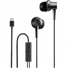 Наушники Xiaomi Mi Noise Cancelling Earphones (USB Type-C) чёрные