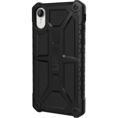 Чехол UAG Monarch Series Case для iPhone Xr чёрный