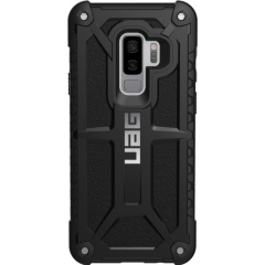 Чехол UAG Monarch Series Case для Samsung Galaxy S9+ чёрный