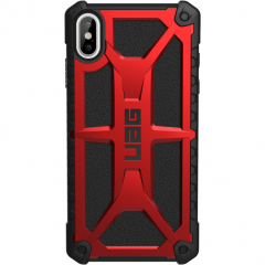 Чехол UAG Monarch Series Case для iPhone Xs Max красный Crimson
