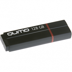 USB-накопитель QUMO 128GB Speedster чёрный (QM128GUD3-SP-black)