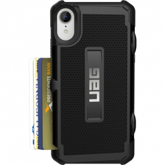 Чехол UAG Trooper Series Case для iPhone Xr чёрный