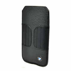 Чехол BMW Signature Sleeve BMPOP5LK для iPhone 5/5S/SE Черный