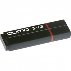 USB-накопитель QUMO 32GB Speedster чёрный (QM32GUD3-SP-Black)