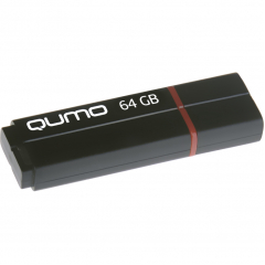 USB-накопитель QUMO 64GB Speedster чёрный (QM64GUD3-SP-Black)