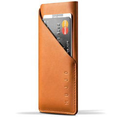 Чехол Mujjo Leather Wallet Sleeve для iPhone 6/7/8/SE 2  рыжий
