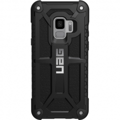 Чехол UAG Monarch Series Case для Samsung Galaxy S9 чёрный