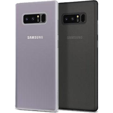 sports shoes cf05f 7342e Чехол Spigen Case Air Skin для Samsung Galaxy Note 8 чёрный (587CS22049)